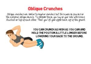 Oblique Crunches
