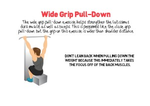 Wide Grip Pull-Down